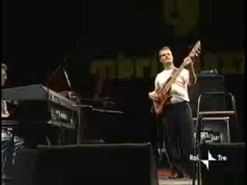 Mike Pope performing with the Chick Corea Elektric Band
