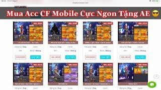 CF Legends : Nạp Thử 300K Mua Acc CF Mobile Tặng Fan Và Cái Kết Bất Ngờ | Shop Tuấn Sniper