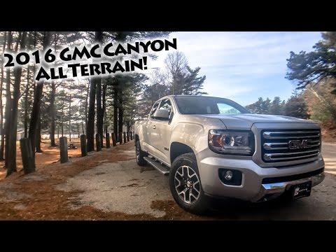 2016 GMC Canyon All Terrain - Quick Peek!