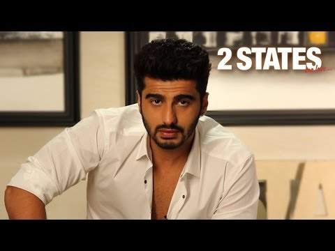 Arjun Kapoor - YouTube, Facebook, and Twitter Invite - 2 States