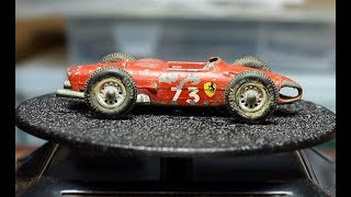 MATCHBOX Restoration No 73 Ferrari F1 Race Car 1962