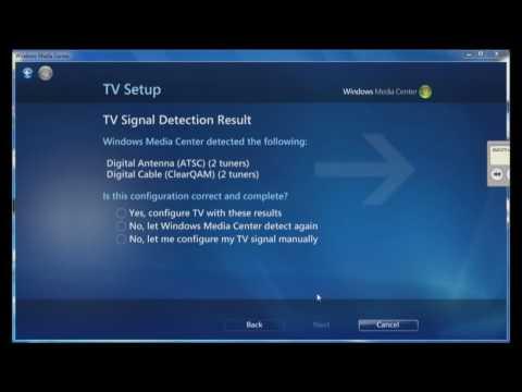 Windows Media Center - HDHomeRun Installation and Setup