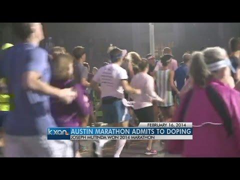 Winner of 2014 Austin Marathon admits to doping