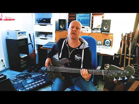 Elefant Talk - Behind the scenes  - Chitter Chatter - Bass takes with track stacking