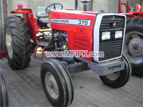 Massey Ferguson Tractor MF 375 S 2WD 75 Hp