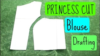 Drafting of Princess Cut Blouse | anjalee sharma