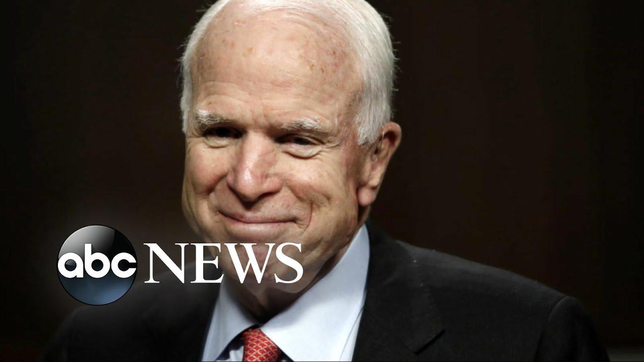 John McCain responds to cancer diagnosis