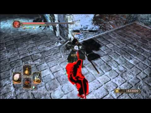 Dark Souls 2 Weapon Showcase: Blue Knight Halberd