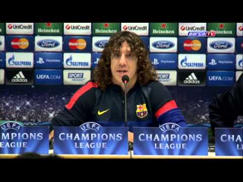 """FC Barcelona - Puyol:""""AC Milan are on form, we have to respect them"""""""