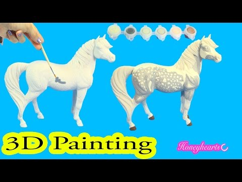 DIY Breyer 3D Paint by Number Dappled Grey Resin Pony Do It Yourself Painting Kit Review