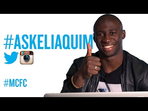 #AskEliaquim   Defender answers questions posed by the Man City fans