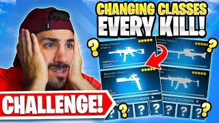 The Class Swap Challenge! Switch Guns for EVERY KILL! 😳 (Cold War Warzone)