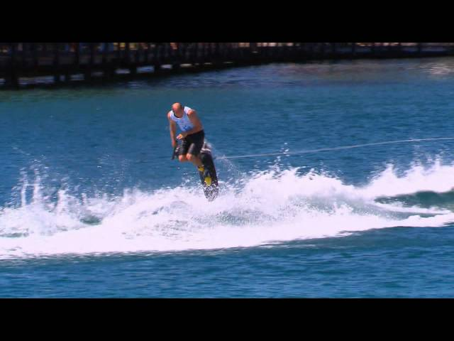 Trick ski final highlights -  Mandurah, IWWF world cup 2012