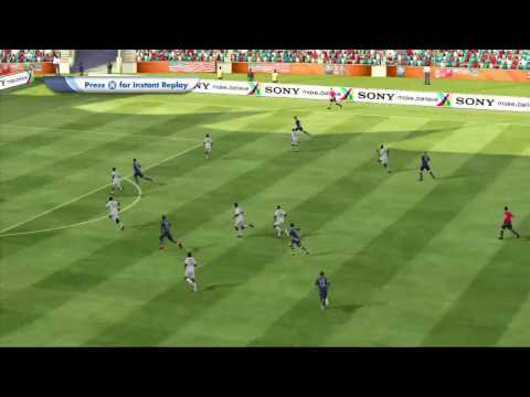 USA vs Ghana World Cup Match (Simulated with Fifa 2010 South Africa)