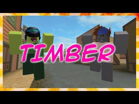 Timber - Roblox Music Video By FUDZ