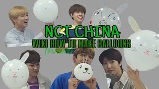 Blow Balloons with NCT CHINA