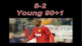 Manchester United 8 Arsenal 2  28th aug 2011 Pure Class