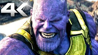 "AVENGERS INFINITY WAR ""Thanos VS Avengers"" Movie Clip (4K ULTRA HD)"