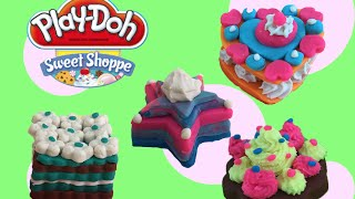 Play Doh Sweet Shoppe Frosting fun bakery - Play Dough Cake, Biscuits, Frosted cookies NEW 2016!