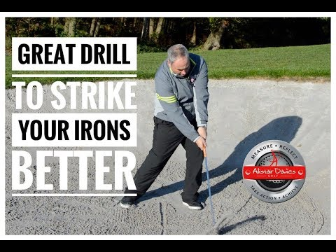 Great Drill To Strike Iron Shots Better