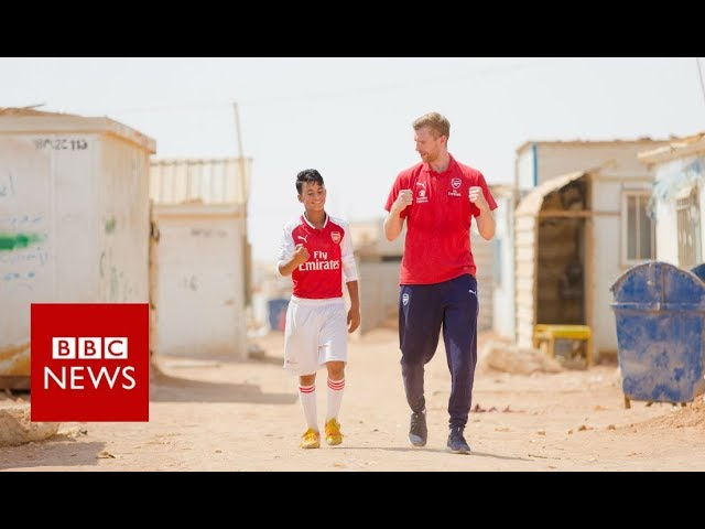 Can football help traumatised children?- BBC News