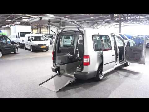 Volkswagen Caddy Maxi 1.9 TDI Automaat Rolstoelauto Knielsysteem