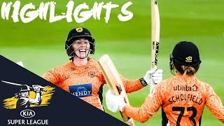 Wyatt Stars as Vipers Reach Final! | SEMI-FINAL | Kia Super League 2019 - HIGHLIGHTS