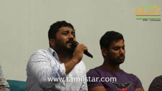 Vishal Press Meet Regarding Against Piracy Issue