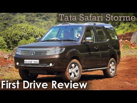 2012 Tata Safari Storme - OnCars Review