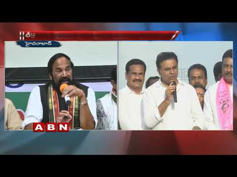 War of words between TPCC Chief Uttam Kumar Reddy and Minister KTR