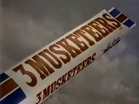3 musketeers candy bar ad from 1986 youtube