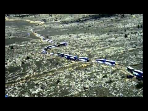 Israeli Police drone documents Amona eviction