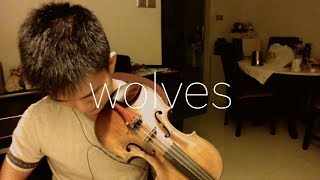 Download Lagu Selena Gomez, Marshmello - Wolves (Visualizer) (VIOLIN COVER) Gratis STAFABAND