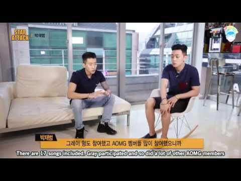 [ENG] 140901 Glance TV Star Attack: Special Reporter Gray interviews Jay Park