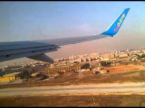 Takeoff from Aleppo International Airport, on board FLYDUBAI on November 29 14.20 pm.
