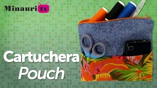 DIY - Cartuchera Multiuso ( Multipurpose Makeup & Pencil Bag )