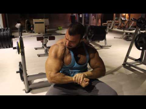 Enes Nahass Bench Press Training!