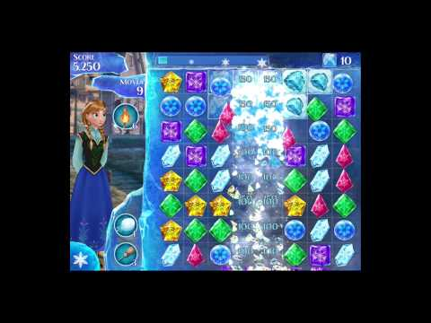 Disney Frozen Free Fall Level 43