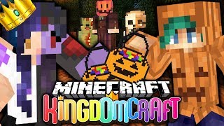 Trick or Treating GONE WRONG in KingdomCraft Minecraft Factions 👑 (Ep 5)