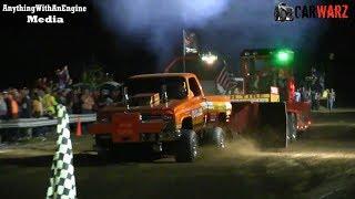 Super Stock Gas Trucks At TTPA Truck Pulls In Peck Michigan 2019