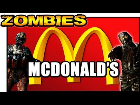 MCDONALDS ZOMBIES ★ Left 4 Dead 2 ★ Custom Zombies
