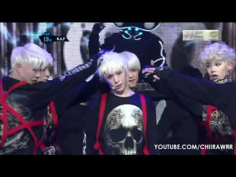 120209 M Countdown 'B.A.P - Warrior' Himchan Ending Cut