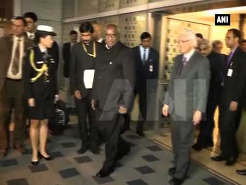 Singapore President arrives in India for state visit