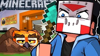 TRICKING VANOSS & TREATING TERRORISER on MINECRAFT! - (Exploring The Other Server)