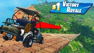 Reaching *MAX SPEED* In Golf Karts In Fortnite Battle Royale!