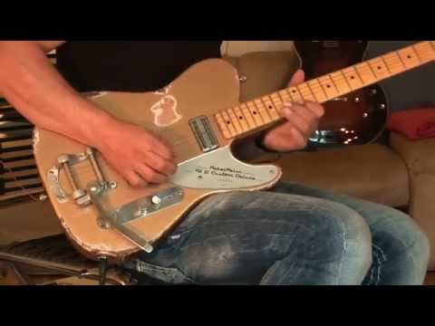 Part 4 Greg Hilden Showcases RebelRelic TG2 Custom Deluxe Shoreline Gold