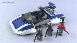 LEGO Star Wars Mandalorian Speeder 75022 set Review!