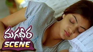 Kajal Aggarwal & Dev Gill Bed Room Scene || magadheera Telugu Movie