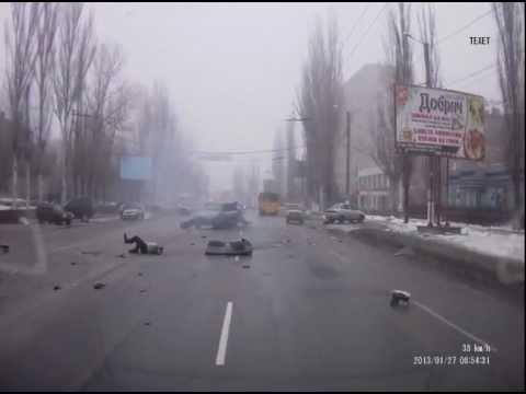 Кировоград ДТП  ул. Полтавская 28.12.12