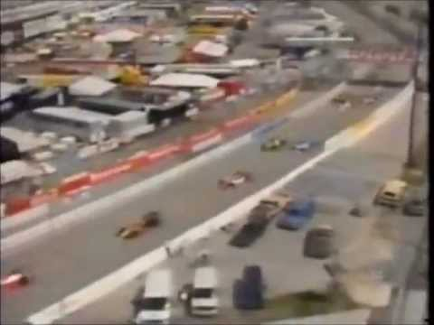 LARGADA das 200 Milhas de Miami de 1995: Pole Position Michael Andretti